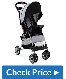 Kolcraft Cloud Plus Lightweight Double Stroller