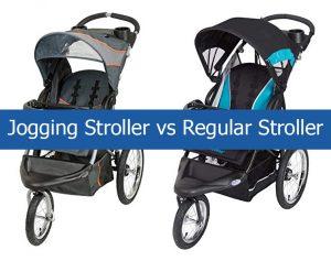 Jogging Stroller vs Regular Stroller